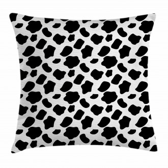 Cow Skin with Spots Pillow Cover