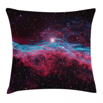 Outer Space Stars Galaxy Pillow Cover