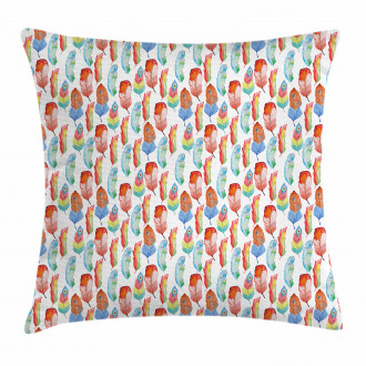 Vintage Feather Style Pillow Cover