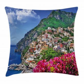 Positano Amalfi Naples Pillow Cover