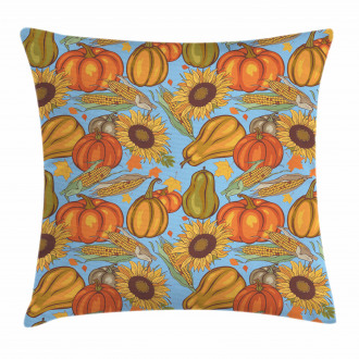 Agriculture Vegetables Pillow Cover