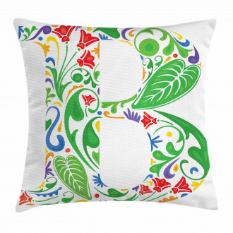 Capital B Spring Herbs Pillow Cover