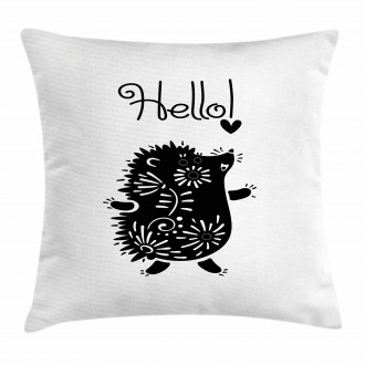 Animal with Spikes Pillow Cover