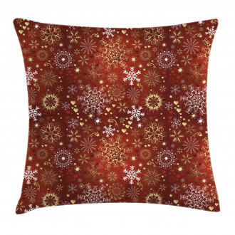 Vintage Festive Xmas Pillow Cover