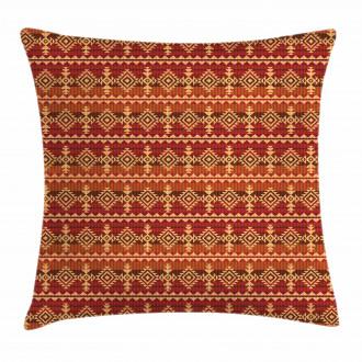 Aztec Culture Ornament Pillow Cover