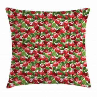 Organic Garden Harvest Pillow Cover