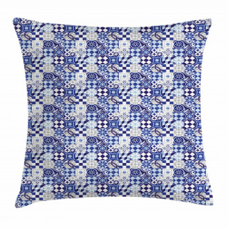 Geometric Elements Pillow Cover