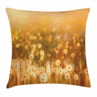 Vintage Spring Sunset Pillow Cover