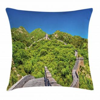 Famous Landmark Pillow Cover