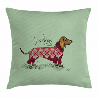 Animal in Clothes Pillow Cover