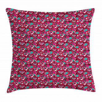 Abstract Love Symbol Pillow Cover