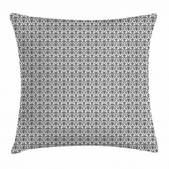 Ethnic Dot and Line Pillow Cover