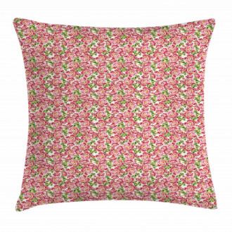 Vintage Peony Bouquet Pillow Cover