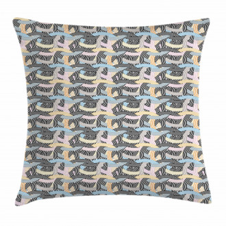 Arch Shape Curvy Pastel Pillow Cover