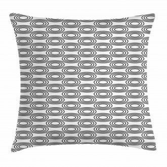 Bullseye Circle Pillow Cover