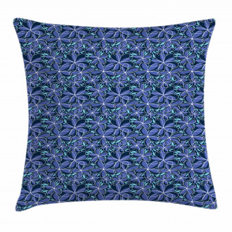 Simple Daisy Blossoms Pillow Cover