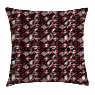 Geometric Retro Pillow Cover
