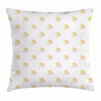 Cupid Amour Love Arrow Pillow Cover