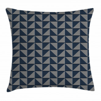 Triangle Rhombus Shapes Pillow Cover