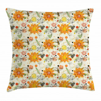 Cheerful Spring Art Pillow Cover