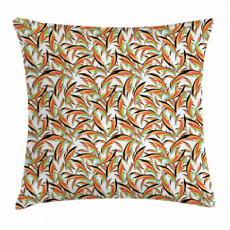 Exotic Hawaii Foliage Pillow Cover