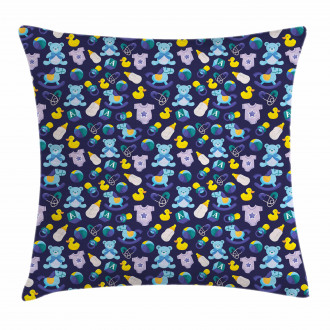 Children Toy Collection Pillow Cover