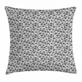 Leaves Birds Pillow Cover