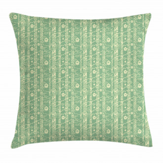 Fresh Tree Leaves Design Pillow Cover