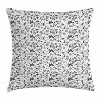 Petal Spring Dots Pillow Cover