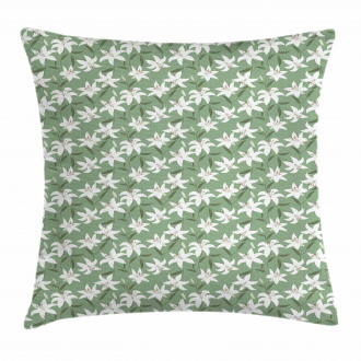 Lilly Bouquet Design Pillow Cover