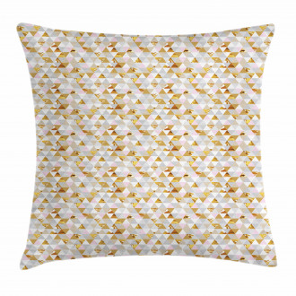Triangle Zigzag Motif Pillow Cover
