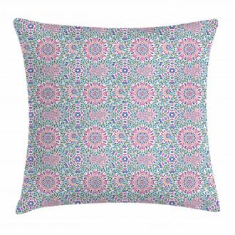 Eastern Sacred Mandala Pillow Cover