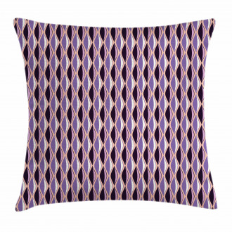 Vertical Wavy Lines Pillow Cover