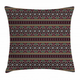 Primitive Tribal Art Pillow Cover