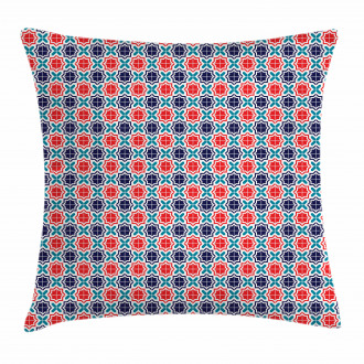 Ancient Star Tiles Pillow Cover