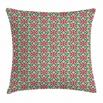 Abstract Cranberries Pillow Cover