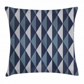 Rhombuses and Dots Pillow Cover