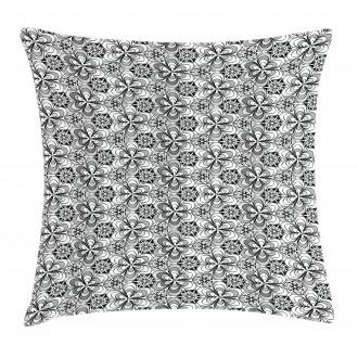 Sketch Garden Pillow Cover