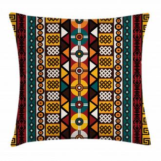 Primitive Borders Pillow Cover