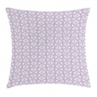 Baroque Floral Swirls Pillow Cover
