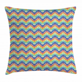 Tribal Chevron Art Pillow Cover