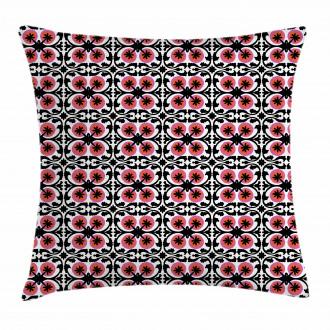 Oriental Suzani Pattern Pillow Cover