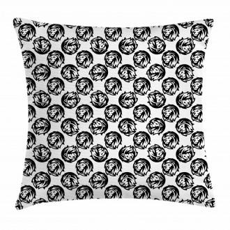 Proud Animal Bushy Mane Pillow Cover