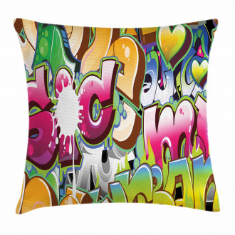 Throwie Style Pillow Cover