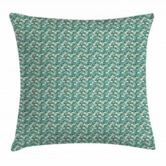 Flourishing Magnolia Pillow Cover