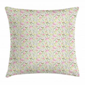 Fresh Spring Flowers Pillow Cover