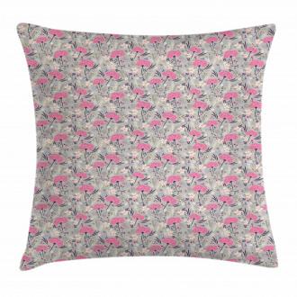 Repeating Dandelions Pillow Cover