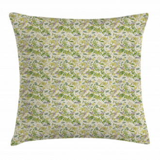 Pastel Shade Nature Pillow Cover