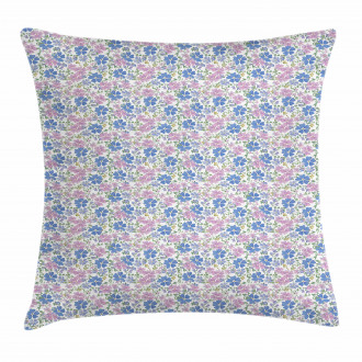 Spring Vintage Floral Pillow Cover