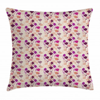 Carnations and Tulips Pillow Cover